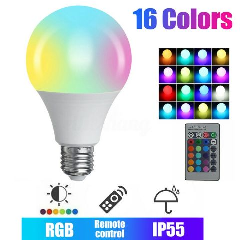 16COLOR RGB LED bulb