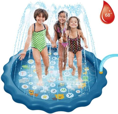 "68"" Inflatable Splash Play Mat"