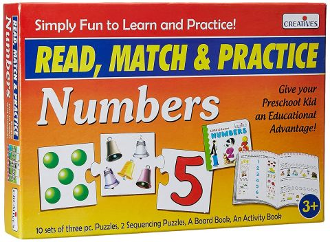 Read Match & Practice - Numbers Board Book