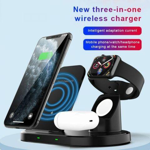 3 In 1 Desktop Wireless Charger