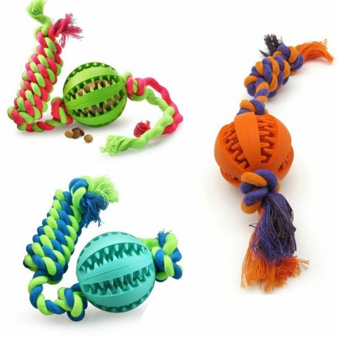 PT6 Dog Molars Toys With Rope