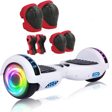 """6.5"""" Hoverboard with Bluetooth & Colorful Lights"""