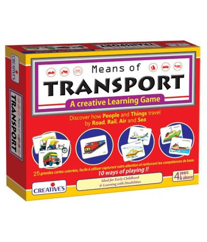 Means of transport- cards