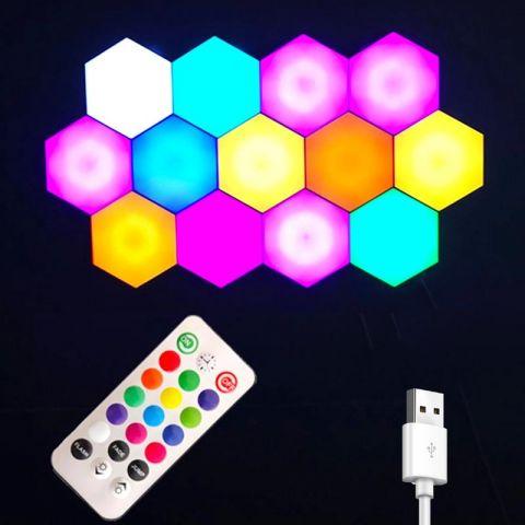 Hexagon Honeycomb Led Lights