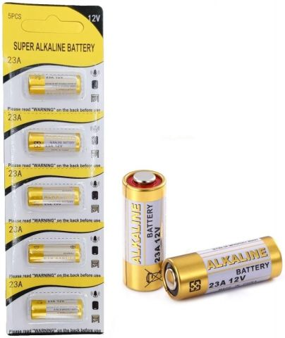 super alkaline battery 23a 12v