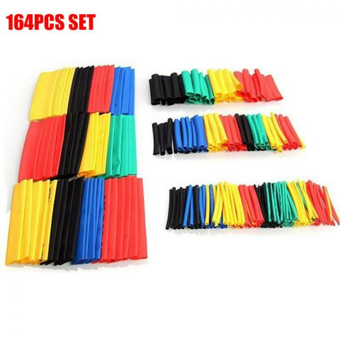164pcs 2:1 Wire Cable Insulated Set