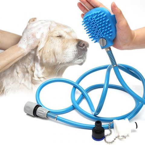 Pet Washing Shower Brush