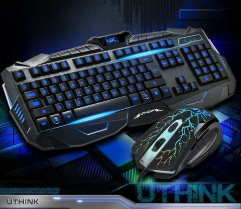 V100 Gaming Keyboard and Mouse