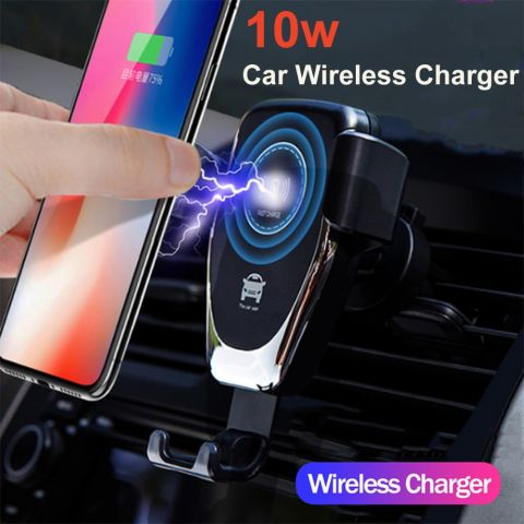 10W Car Phone Holder Wireless Charger
