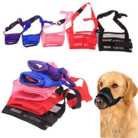 Dog Mask Mouth Muzzle