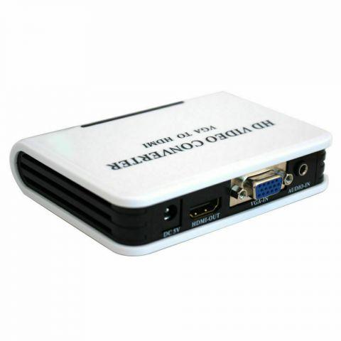 VGA to HDMI Video Converter Box