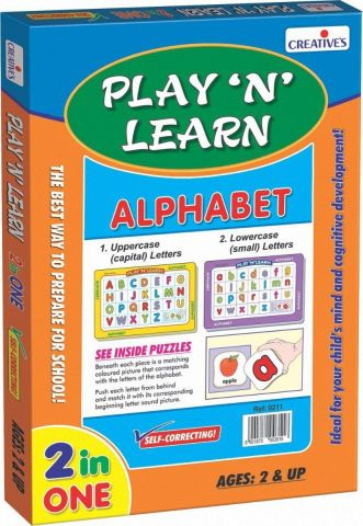 Play 'N' Learn - Small & Capital Letters