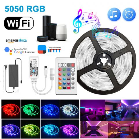 10M RGBW LED With APP Control & 10A Adapter