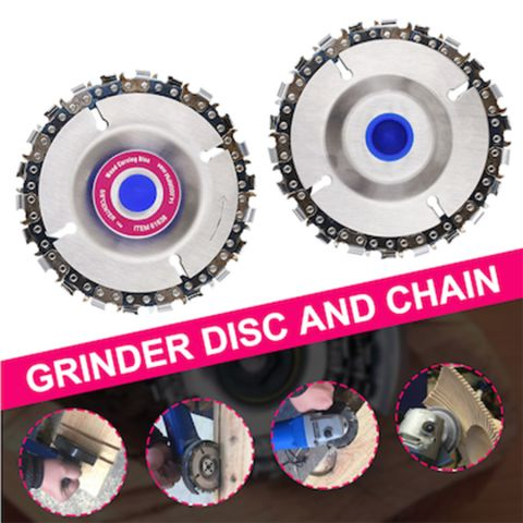 4 Inch Grinder Chain Disc with 22 Tooth