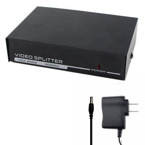 2Port 200MHz VGA Splitter